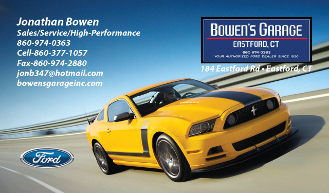 Ford Business Card Design 1